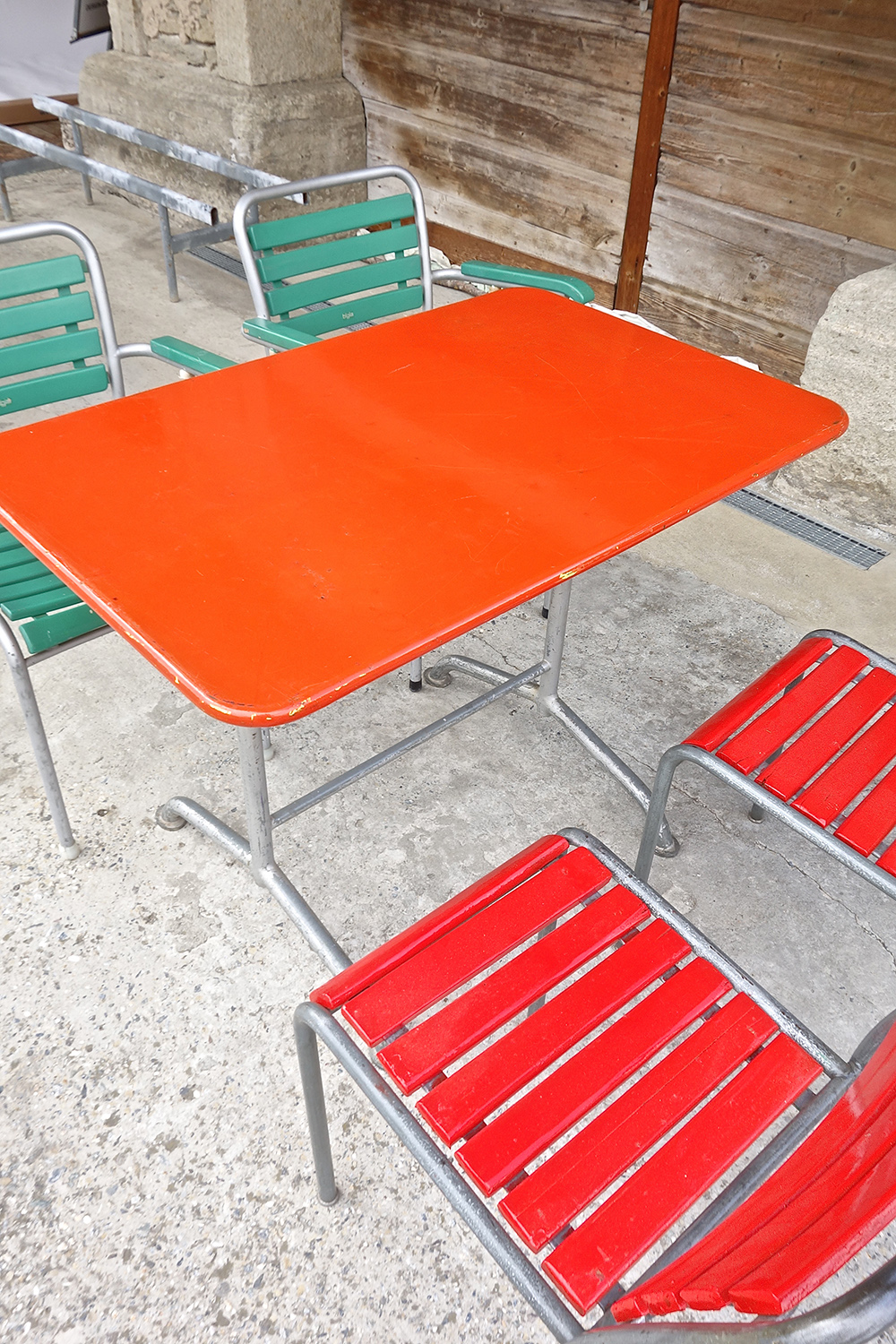 Table de jardin bigla 1960 vendu warehouse furniture - Table de jardin zodio toulon ...