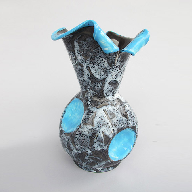 Ceramic vase Vallauris 1960