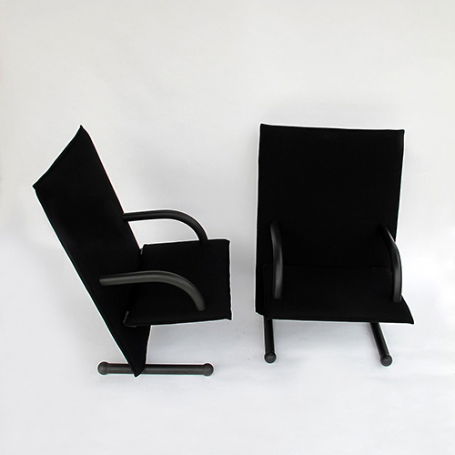 Pair of armchairs  Arflex 1980