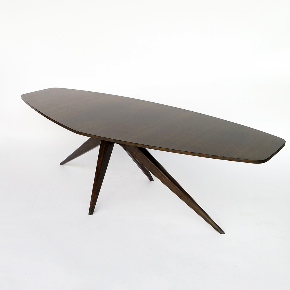 Table basse palissandre 1960