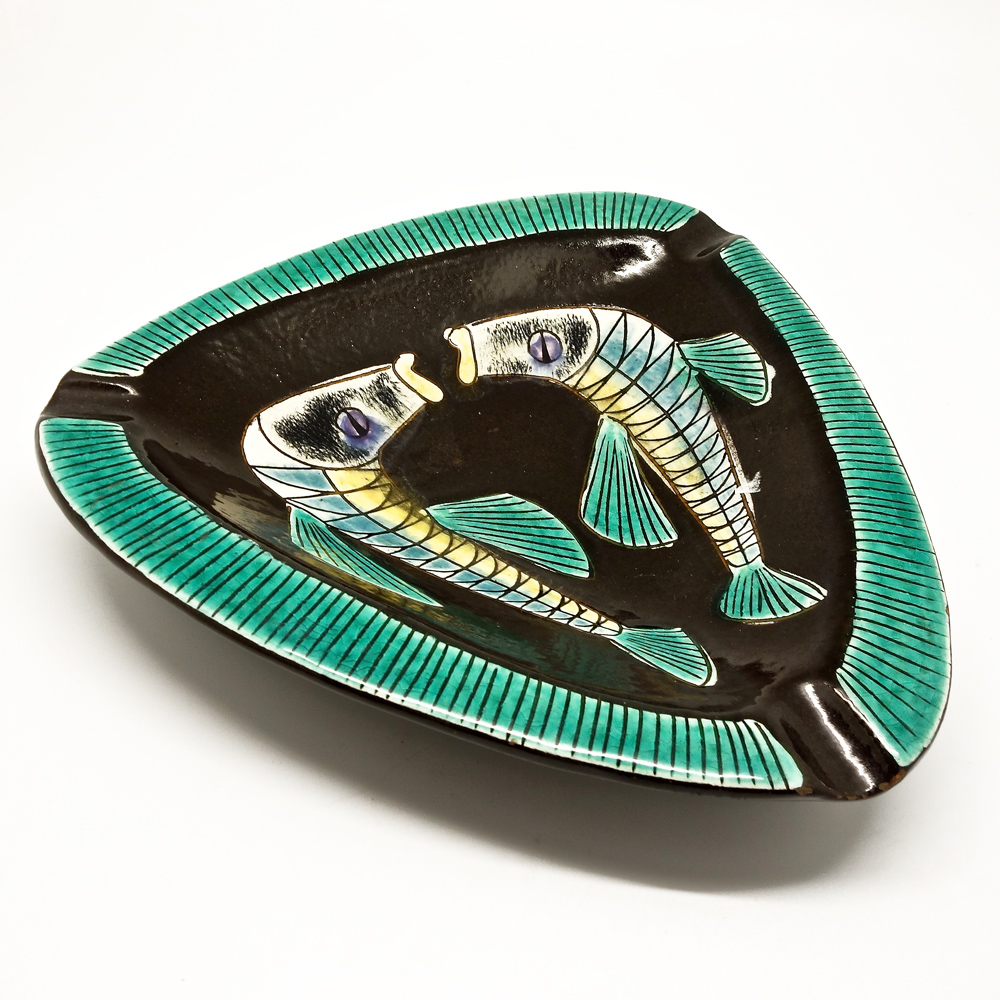 Ceramic ashtray Hugo Kohler  1960