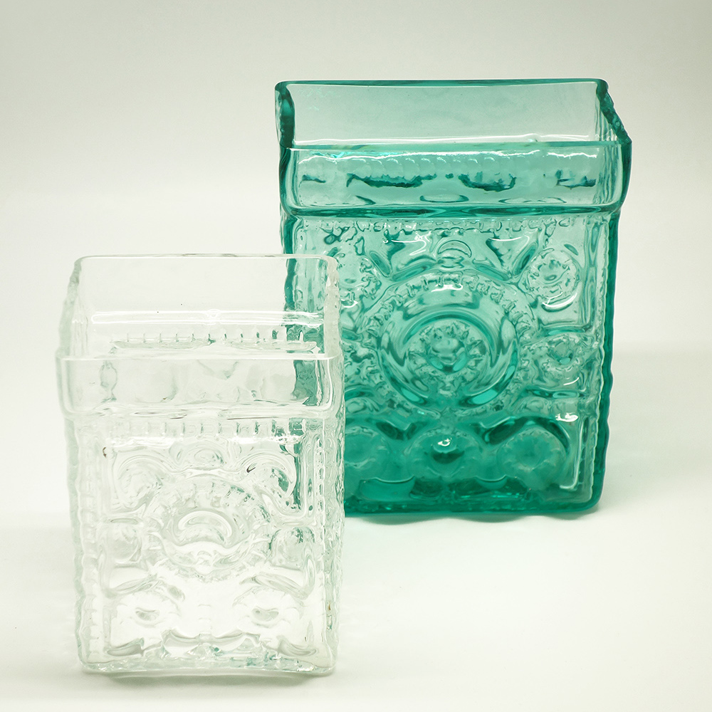 Glass vases T. Aladin 1960