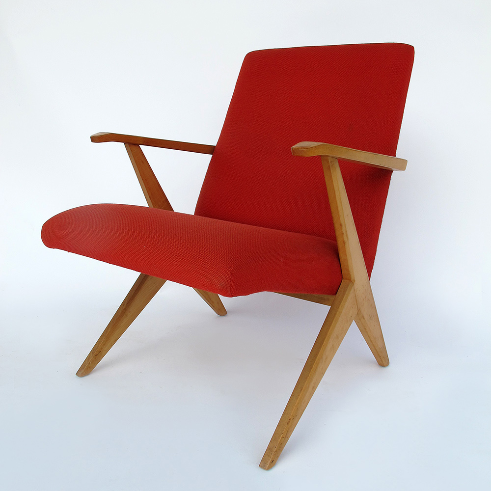 Armchair swiss design 1950