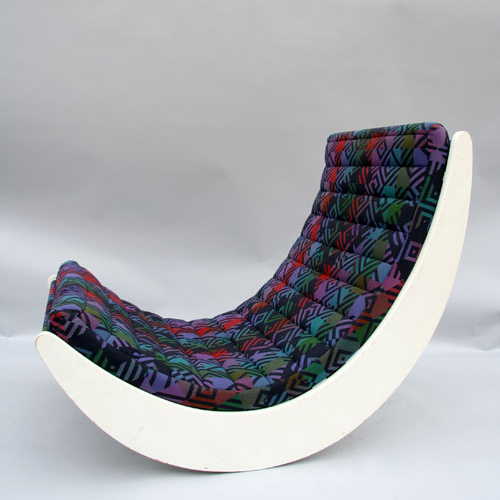 "Rocking chair  "" relaxer 2 ""  Verner Panton  1970"