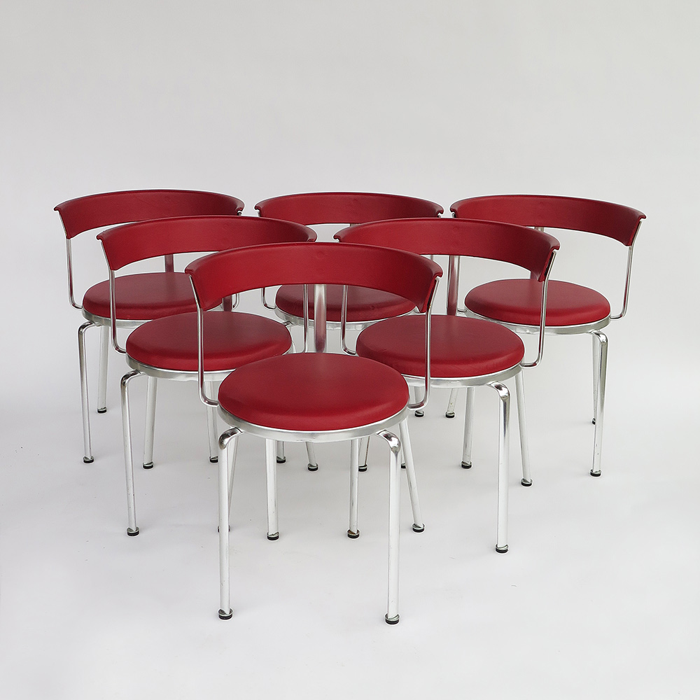 Alu Chairs  Kurt Thut 1980