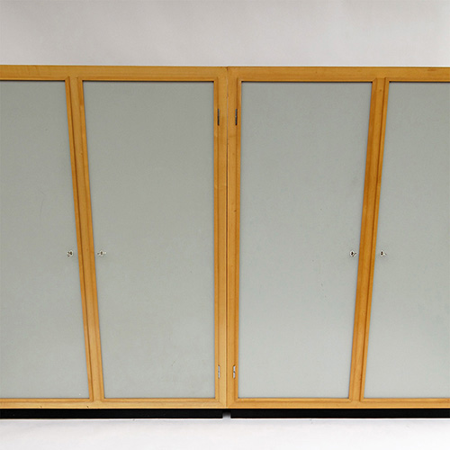Pair of swiss wardrobes 1960