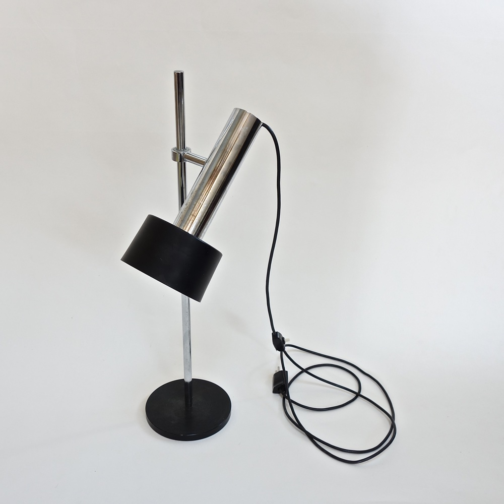 Metal spot lamp  swiss 1960
