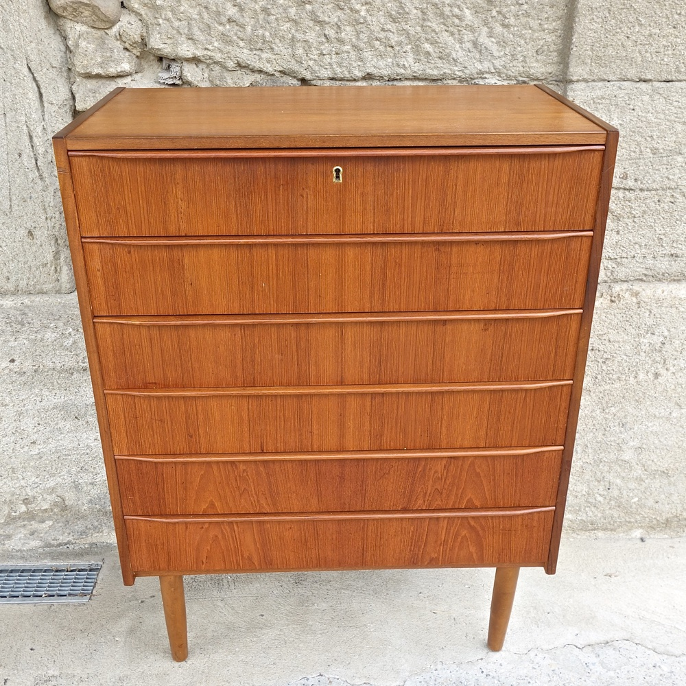 commode scandinave  1960