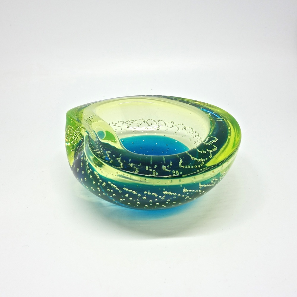 Italien glass bowl Murano 1960-70