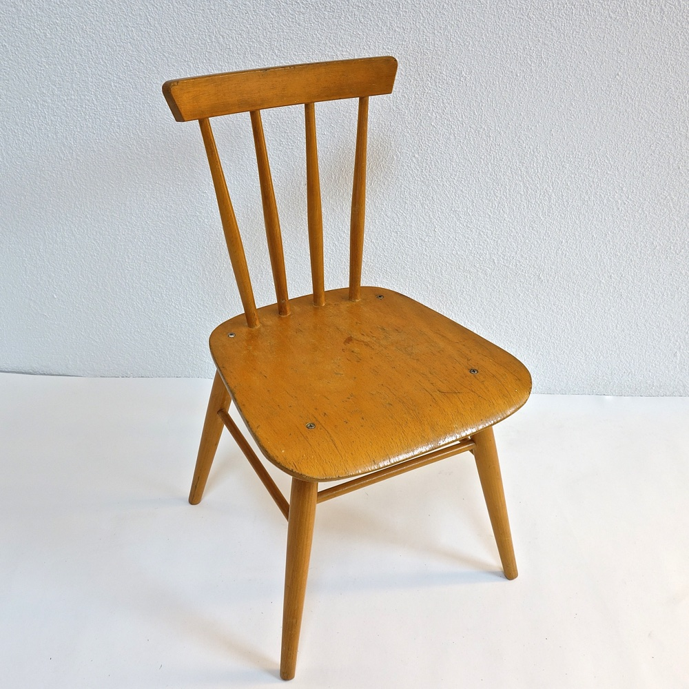 Children's chair Wisa Gloria swiss 1950
