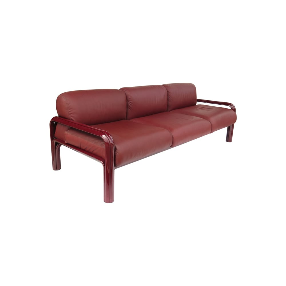 Gae Aulenti three seater sofa edition Knoll 1970