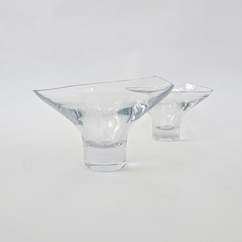 two crystal cups  Rosenthal    1970