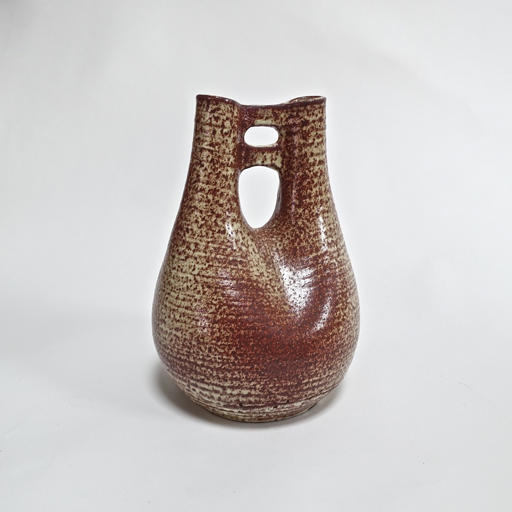ceramic vase Accolay 1950
