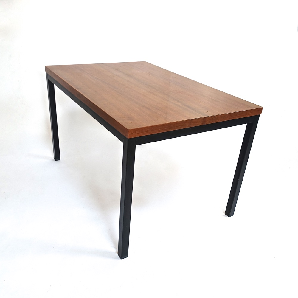 table basse en noyer 1960