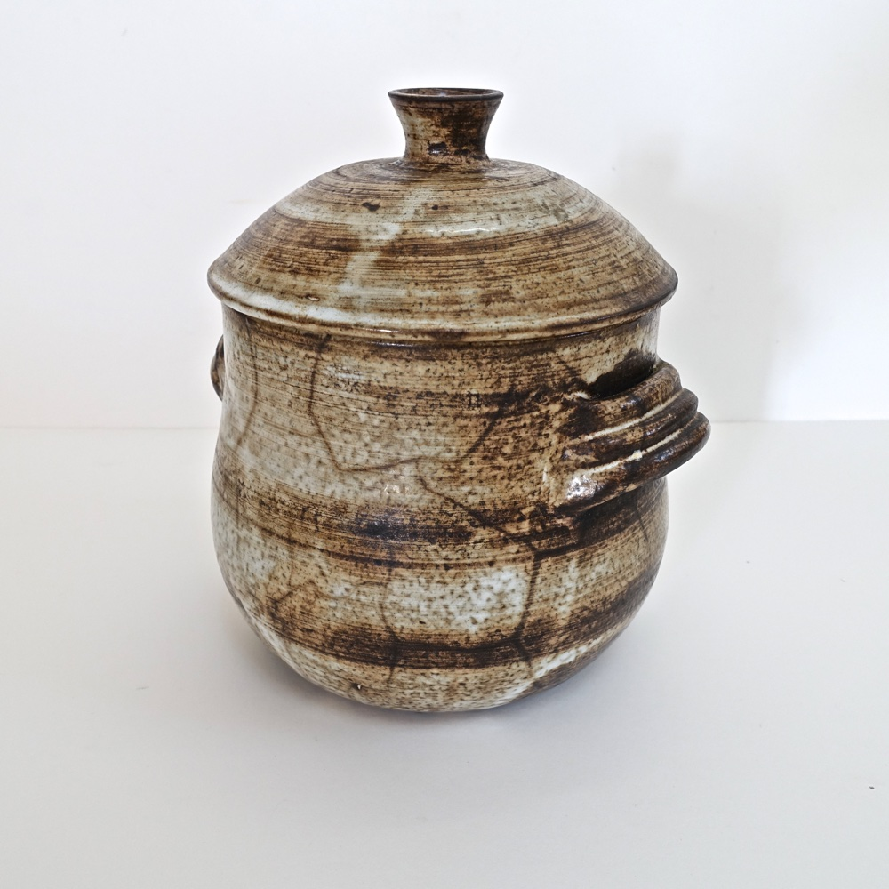grand pot couvert Jacques Pouchain 1960