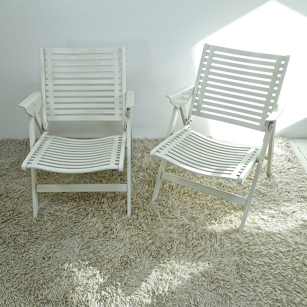 pair of folding armchairs Nico Kralj 1952