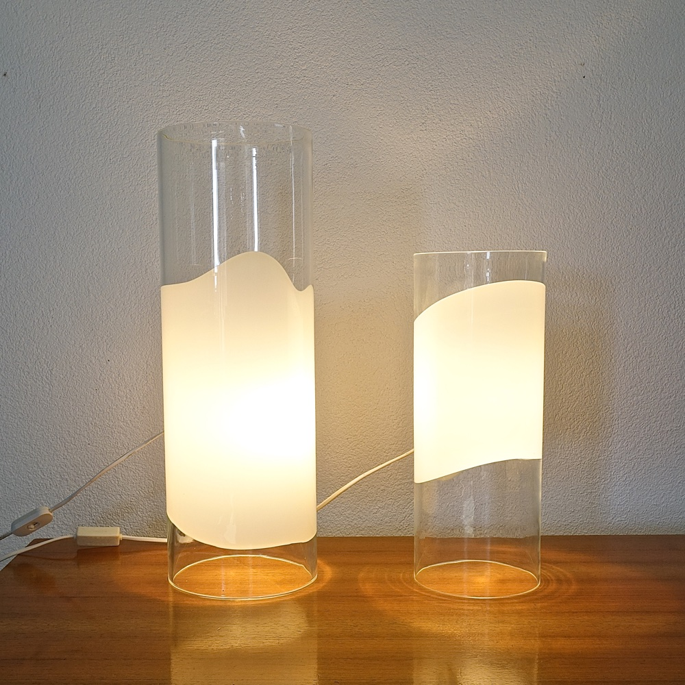 glass lamps Vistosi 1970