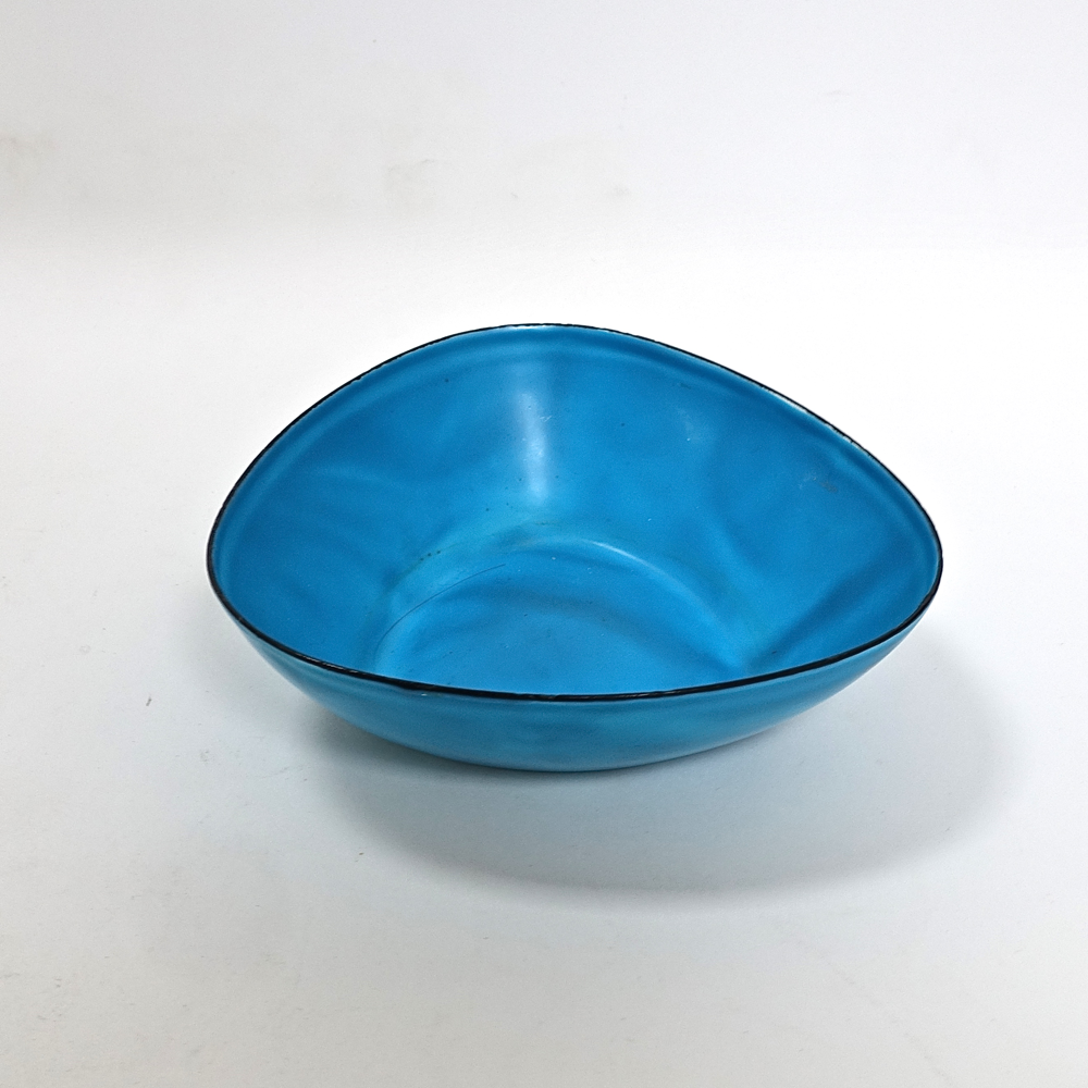 enamelled metal bowl Kockum Sweden 1960