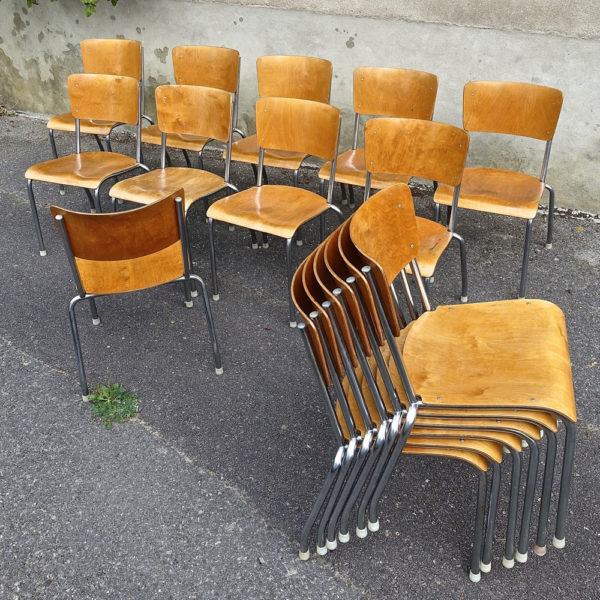 Industrial chairs Bigla 1930