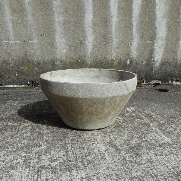 fiber cement flower pot Eternit AG 1970
