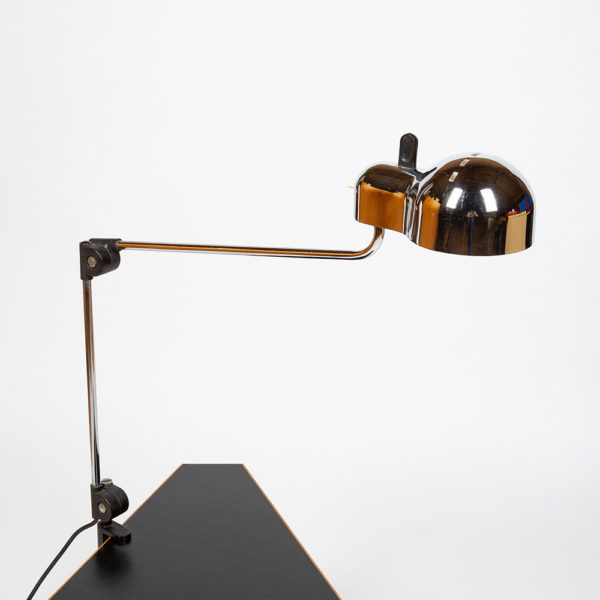 Desk lamp Topo by Joe Colombo Stilnovo edition circa 1970